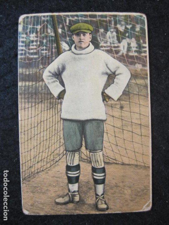 ANTONIO ESTRUCH-SABADELL-GRANDES JUGADORES-CROMO DE FUTBOL-CHOCOLATE EDUARDO PI-VER FOTOS-(84.970) (Coleccionismo Deportivo - Álbumes y Cromos de Deportes - Cromos de Fútbol)
