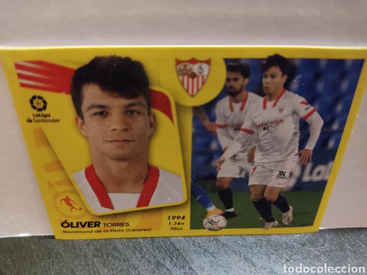 OLIVER TORRES SEVILLA LIGA PANINI 21 22 (Coleccionismo Deportivo - Álbumes y Cromos de Deportes - Cromos de Fútbol)