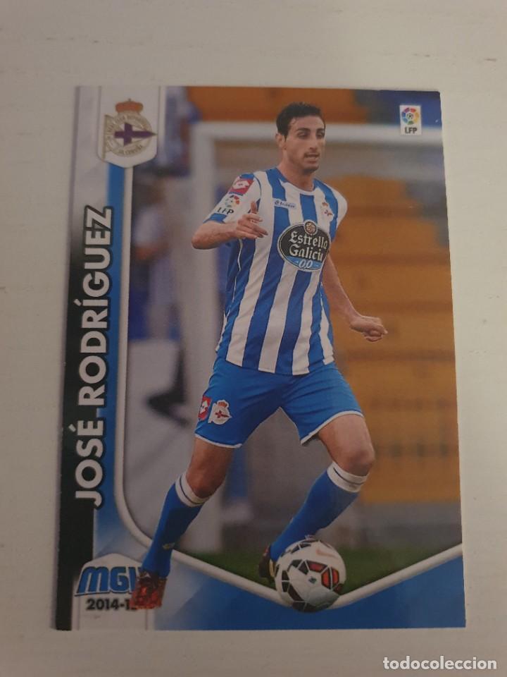 PANINI MEGACRACKS 2014-2015 14 15 Nº 120 JOSE RODRIGUEZ (DEPORTIVO) MGK (Coleccionismo Deportivo - Álbumes y Cromos de Deportes - Cromos de Fútbol)