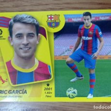 Figurine di Calcio: CROMO FUTBOL N° 4 ERIK GARCIA ULTIMOS FICHAJES - BARCELONA - LIGA ESTE 2021 2022 21/22 ADN. Lote 293895743