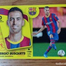 Figurine di Calcio: CROMO FUTBOL N°13 SERGIO BUSQUETS BARCELONA LIGA ESTE 2021 2022 21/22 ADN. Lote 293895943