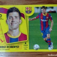 Figurine di Calcio: CROMO FUTBOL N°7 B SERGI ROBERTO BARCELONA LIGA ESTE 2021 2022 21/22 ADN. Lote 293895978