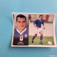Cromos de Fútbol: COLOCA 98 99 NADJ CROMO ALBUM ESTE OVIEDO DESPEGADO 1998 1999. Lote 293926888