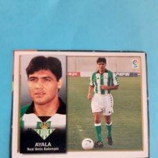 Cromos de Fútbol: CROMO COLOCA AYALA BETIS 98 99 ÁLBUM ESTE LIGA 1998 1999 RECORTADO. Lote 293927833