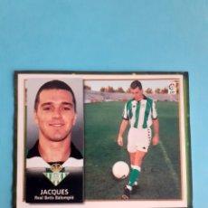 Cromos de Fútbol: CROMO FICHAJE 2 BIS JACQUES 98 99 REAL BETIS CROMO ALBUM ESTE 1998 1999 RECORTADO. Lote 293929588
