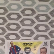 Cromos de Fútbol: ADN KOEMAN N°18 FC BARCELONA LIGA 21/22. Lote 294020608