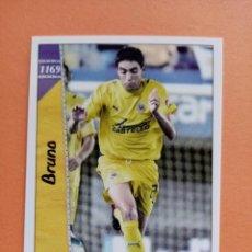 Cromos de Fútbol: Nº 1169 BRUNO, VILLARREAL C.F. , +III FICHAS LIGA 2007, 2006 2007, 06/07 PLATINUM MUNDICROMO. Lote 294020693