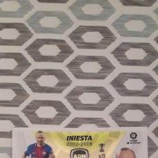 Cromos de Fútbol: ADN INIESTA FC BARCELONA LIGA 21/22. Lote 294020803