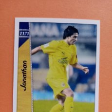 Cromos de Fútbol: Nº 1171 JONATHAN, VILLARREAL C.F. , +III FICHAS LIGA 2007, 2006 2007, 06/07 PLATINUM MUNDICROMO. Lote 294020948