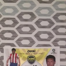 Cromos de Fútbol: ADN QUINI N°24 SPORTING DE GIJÓN LIGA 21/22. Lote 294021098