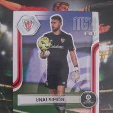 Cromos de Fútbol: UNAI SIMÓN, AT.BILBAO, MEGACRACKS 2021 2022. Lote 294021108