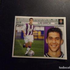 Cromos de Fútbol: LUIS GARCIA DEL VALLADOLID ALBUM ESTE LIGA 2001 - 2002 ( 01 - 02 ). Lote 294029558