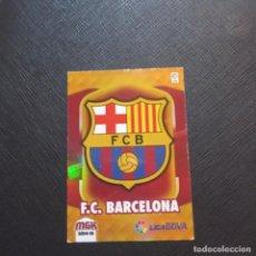 Cromos de Fútbol: ESCUDO BARCELONA PANINI MEGACRACKS 14 15 CROMO FUTBOL LIGA 2014 2015 - A54 - 55. Lote 294032098