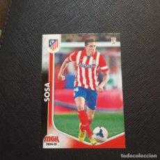 Cromos de Fútbol: SOSA AT MADRID PANINI MEGACRACKS 14 15 CROMO FUTBOL LIGA 2014 2015 - A54 - 50. Lote 294032358