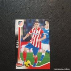 Cromos de Fútbol: GABI AT MADRID PANINI MEGACRACKS 14 15 CROMO FUTBOL LIGA 2014 2015 - A54 - 45. Lote 294032693