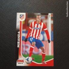 Cromos de Fútbol: MIRANDA AT MADRID PANINI MEGACRACKS 14 15 CROMO FUTBOL LIGA 2014 2015 - A54 - 40. Lote 294033113