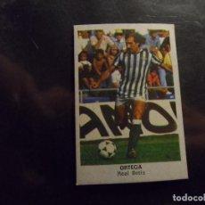 Cromos de Fútbol: ORTEGA DEL REAL BETIS ALBUM CROMOS CANO LIGA 1983 - 1984 ( 83 - 84 ). Lote 294083003