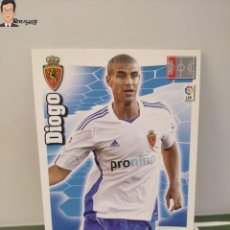 Cromos de Fútbol: DIOGO Nº 344 (REAL ZARAGOZA) ADRENALYN XL 2010 2011 PANINI CROMO 10 11 CARD TARJETA FICHA. Lote 294377208