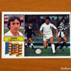 Cromos de Fútbol: VALENCIA - SAURA - LIGA 1982-1983, 82-83 - EDICIONES ESTE - NUNCA PEGADO. Lote 294380173