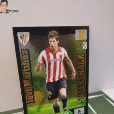 Cromos de Fútbol: JAVI MARTINEZ Nº 410 - SUPERCRACK (ATH. BILBAO) ADRENALYN XL 2010 2011 10 11 CROMO CARD FICHA. Lote 294380438