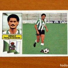 Cromos de Fútbol: RACING DE SANTANDER - ANGULO - EDICIONES ESTE 1982-1983, 82-83 - NUNCA PEGADO. Lote 294383508