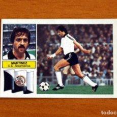 Cromos de Fútbol: SALAMANCA - MARTINEZ - FICHAJE Nº 25 - LIGA 1982-1983, 82-83 - EDICIONES ESTE - NUNCA PEGADO. Lote 294383598