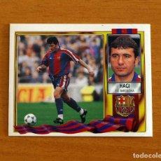 Cromos de Fútbol: FÚTBOL CLUB BARCELONA - HAGI - EDICIONES ESTE 1995-1996, 95-96 - NUNCA PEGADO. Lote 294385538
