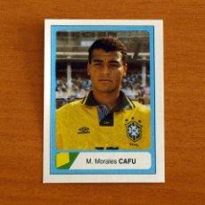 Cromos de Fútbol: BRASIL - CAFU, Nº 90 -MUNDIAL DE ESTADOS UNIDOS 1994 -USA 94 -EDICIONES ESTADIO -NUNCA PEGADO. Lote 294385943