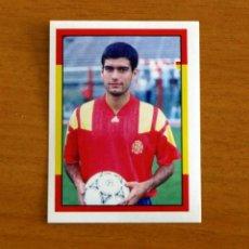 Cromos de Fútbol: ESPAÑA 94 - Nº 84, GUARDIOLA - CAMPEONATO MUNDIAL USA 1994 - MUNDICROMO SPORT - NUNCA PEGADO. Lote 294386028