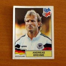 Cromos de Fútbol: ALEMANIA - 173, ANDREAS BREHME - USA 94 - PANINI 1994 - NUNCA PEGADO. Lote 294386113