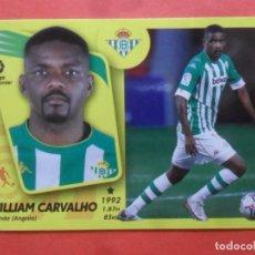 Cromos de Futebol: ESTE 2021 2022 - 16 BIS WILLIAM CARVALHO - REAL BETIS - 21 22 - PANINI. Lote 294581018