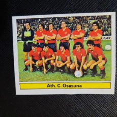 Cromos de Fútbol: OSASUNA ALINEACION ESTE 1981 1982 CROMO FUTBOL LIGA 81 82 - DESPEGADO - A54 - PG280. Lote 294860418