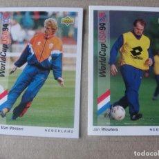 Cromos de Fútbol: WORLD CUP USA 94 UPPER DECK - 62 JAN WOUTERS - NEDERLAND - STOCK DE TIENDA. Lote 294860468