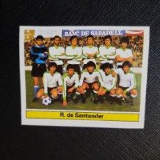 Cromos de Fútbol: RACING SANTANDER ALINEACION ESTE 1981 1982 CROMO FUTBOL LIGA 81 82 - DESPEGADO - A54 - PG289. Lote 294860738