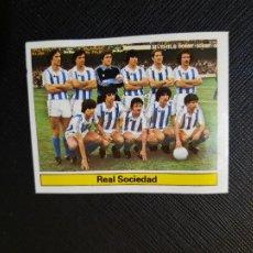 Cromos de Fútbol: REAL SOCIEDAD ALINEACION ESTE 1981 1982 CROMO FUTBOL LIGA 81 82 - DESPEGADO - A54 - PG289. Lote 294860793