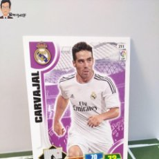 Cromos de Fútbol: CARVAJAL Nº 211 (REAL MADRID) CROMO TARJETA CARD FICHA ADRENALYN PANINI 2013 2014 13 14. Lote 294976918