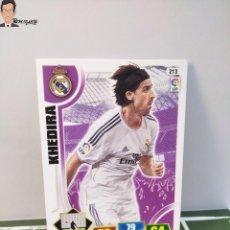 Cromos de Fútbol: KHEDIRA Nº 213 (REAL MADRID) CROMO TARJETA CARD FICHA ADRENALYN PANINI 2013 2014 13 14. Lote 294977133