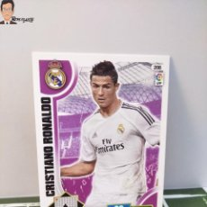 Cromos de Fútbol: CRISTIANO RONALDO Nº 208 (REAL MADRID) CROMO TARJETA CARD FICHA ADRENALYN PANINI 2013 2014 13 14. Lote 294977203
