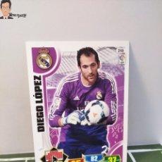 Cromos de Fútbol: DIEGO LÓPEZ Nº 210 (REAL MADRID) CROMO TARJETA CARD FICHA ADRENALYN PANINI 2013 2014 13 14. Lote 294977263