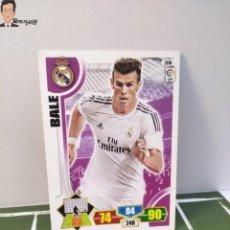 Cromos de Fútbol: GARETH BALE Nº 206 (REAL MADRID) CROMO TARJETA CARD FICHA ADRENALYN PANINI 2013 2014 13 14. Lote 294977323