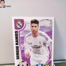 Cromos de Fútbol: SERGIO RAMOS Nº 202 (REAL MADRID) CROMO TARJETA CARD FICHA ADRENALYN PANINI 2013 2014 13 14. Lote 294977348