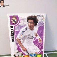 Cromos de Fútbol: MARCELO Nº 203 (REAL MADRID) CROMO TARJETA CARD FICHA ADRENALYN PANINI 2013 2014 13 14. Lote 294977403