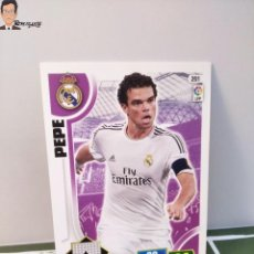 Cromos de Fútbol: PEPE Nº 201 (REAL MADRID) CROMO TARJETA CARD FICHA ADRENALYN PANINI 2013 2014 13 14. Lote 294977488
