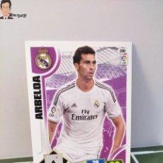 Cromos de Fútbol: ARBELOA Nº 200 (REAL MADRID) CROMO TARJETA CARD FICHA ADRENALYN PANINI 2013 2014 13 14. Lote 294977828