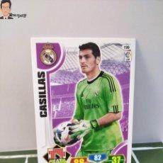 Cromos de Fútbol: IKER CASILLAS Nº 199 (REAL MADRID) CROMO TARJETA CARD FICHA ADRENALYN PANINI 2013 2014 13 14. Lote 294977868