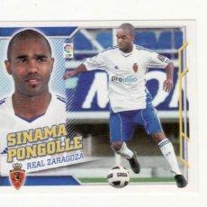 Cromos de Fútbol: EDICIONES ESTE 2010/2011 FICHAJE 58 SINAMA PONGOLLE ZARAGOZA. Lote 294995293