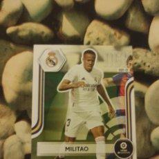 Cromos de Fútbol: 222 MILITAO REAL MADRID MEGACRACKS 2021 2022 21 22 MEGA CRACKS MGK. Lote 294995503