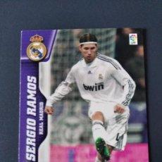 Cromos de Fútbol: MUNDICROMO 2009/10,R.MADRID,SERGIO RAMOS (N°129).. Lote 294995773