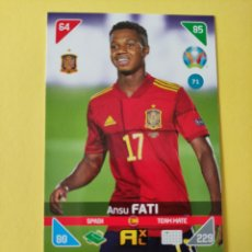 Cromos de Futebol: 71 - ANSU FATI - ESPAÑA - ADRENALYN XL EURO 2020 - 2021 KICK OFF. Lote 295278208