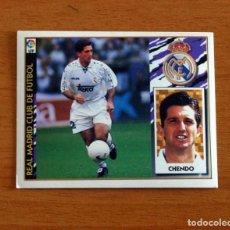 Cromos de Fútbol: REAL MADRID - CHENDO - EDICIONES ESTE 1997-1998, 97-98 - NUNCA PEGADO. Lote 295289548